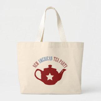 Nueva fiesta del té americana bolsas de mano