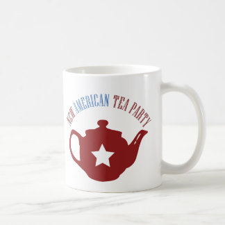 Nueva fiesta del té americana tazas de café