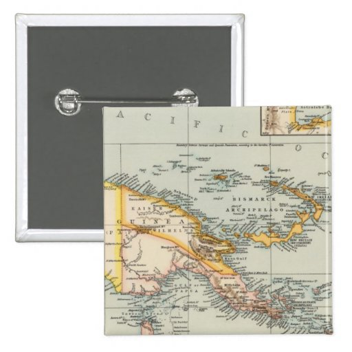 Nueva Guinea, archipiélago del Papuan Pin Cuadrado