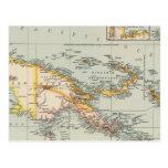 Nueva Guinea, archipiélago del Papuan Tarjeta Postal