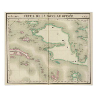 Nueva Guinea Oceanía ningunos 22 Póster