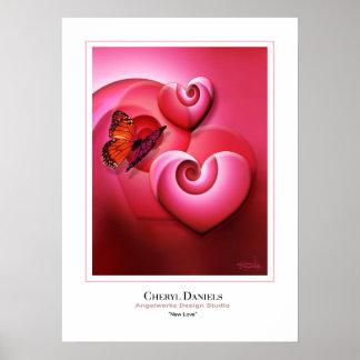 Nueva impresión del amor póster