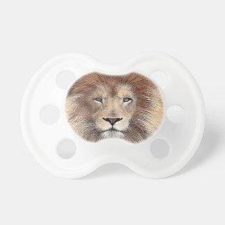 Nueva impresión del león chupetes para bebés