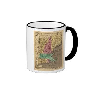 Nueva Inglaterra 4 Tazas De Café