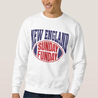 Nueva Inglaterra domingo Funday Sudadera