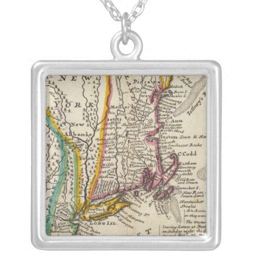 Nueva Inglaterra, Nueva York, New Jersey y Pennsyl Colgante Personalizado