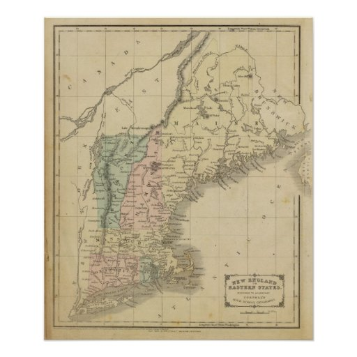 Nueva Inglaterra Póster