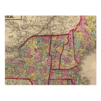 Nueva Inglaterra y Nueva York Tarjetas Postales