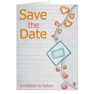 Nueva invitación del boda de la combinación felicitación