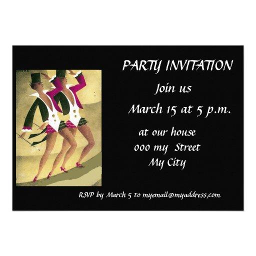 Nueva invitación del fiesta
