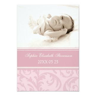 Nueva invitación del nacimiento del bebé de la invitación 12,7 x 17,8 cm