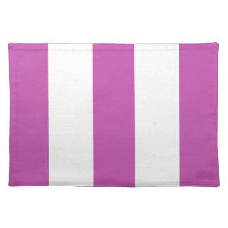 Nueva lavanda 2012 y regalo blanco de Placemat de  Mantel Individual