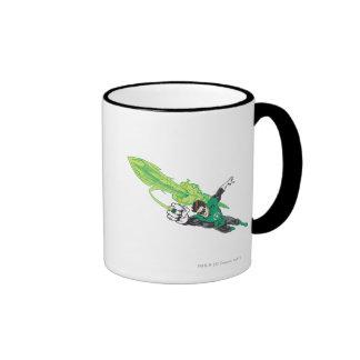Nueva linterna verde 5 taza de dos colores