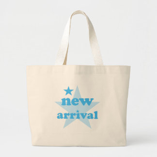 Nueva llegada azul bolsa tela grande
