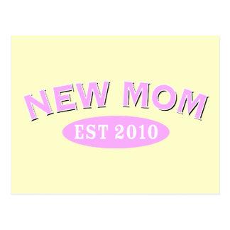 Nueva mamá 2010 tarjetas postales