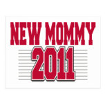Nueva mamá divertida 2011 postales