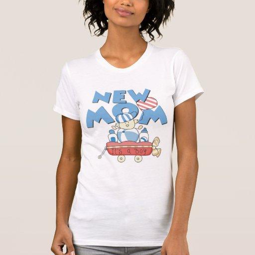 Nueva mamá es camisetas y regalos de un muchacho