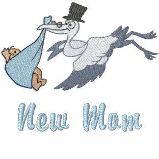 Nueva mamá - muchacho sudadera con capucha