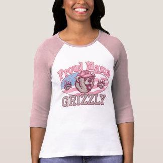 Nueva mamá orgullosa Grizzly Camiseta