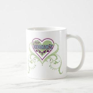 Nueva mamá taza de café