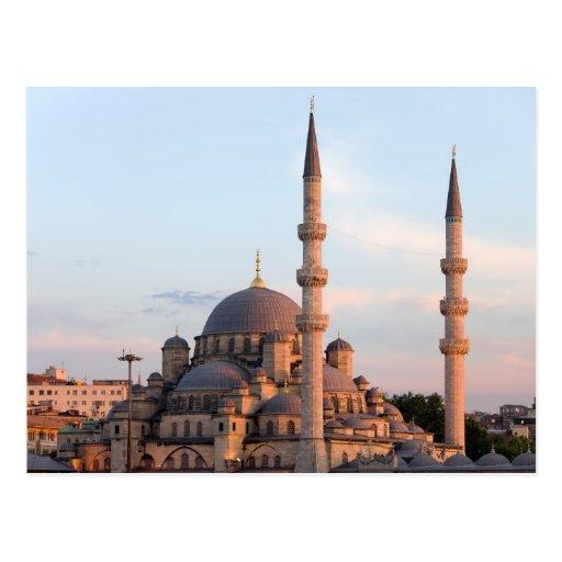 Nueva mezquita en Estambul Postales