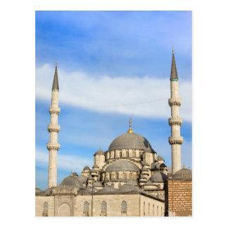 Nueva mezquita en Estambul Tarjeta Postal
