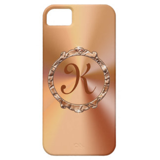 NUEVA mirada elegante del satén del color oro de l iPhone 5 Case-Mate Carcasas