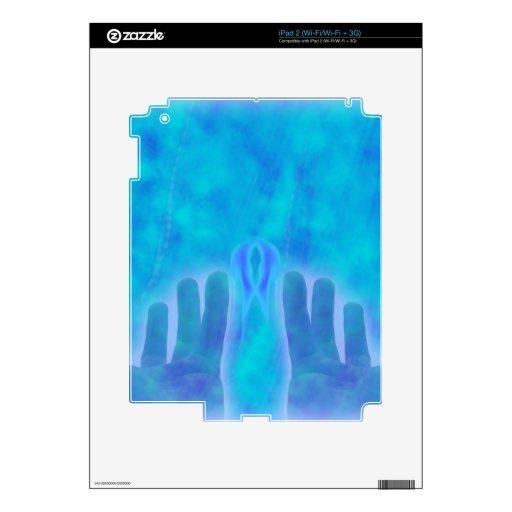 Nueva moda de la lavanda de la edad de la diversió iPad 2 skin
