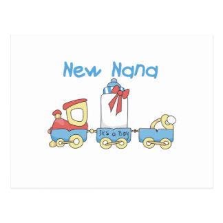 Nueva Nana - camisetas y regalo del tren Postales