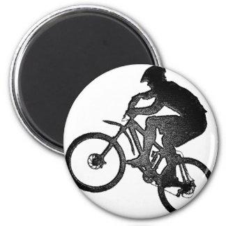 Nueva oferta de la bici imán redondo 5 cm