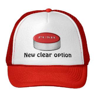 Nueva opción clara gorras
