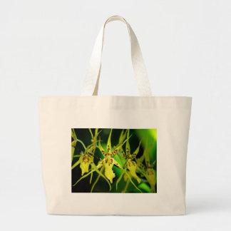nueva orquídea bolsa tela grande