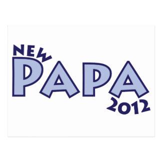 Nueva papá 2012 postal