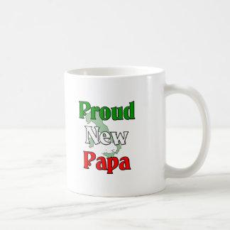 Nueva papá orgullosa tazas de café