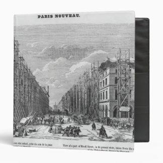 """Nueva París, vista de una pieza de la calle de Carpeta 1 1/2"""""""