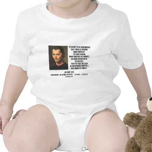 Nueva pedido de Niccolo Machiavelli de la cita de  Trajes De Bebé