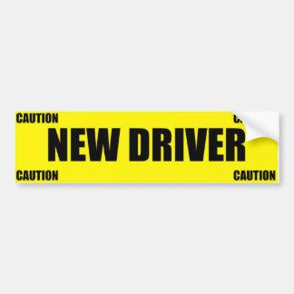 Nueva pegatina para el parachoques del conductor d pegatina para auto