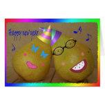 ¡nueva pera feliz! felicitación