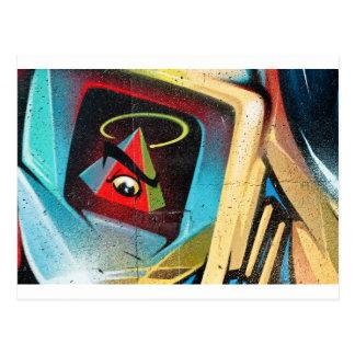 Nueva pintada del orden mundial postal