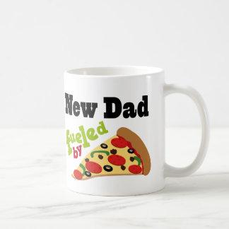 Nueva pizza (divertida) del papá taza