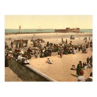 Nueva playa de Brighton, Liverpool, Merseyside, In Tarjetas Postales
