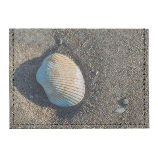 Nueva playa de Smyrna, cáscara del berberecho Tarjeteros Tyvek®