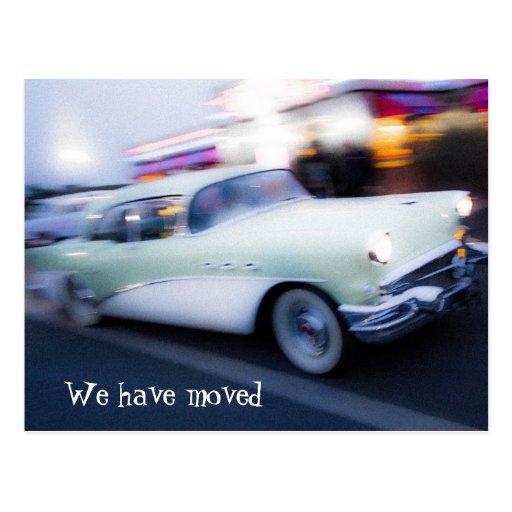 Nueva postal de la dirección del coche americano c