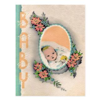 Nueva postal del bebé