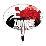 Nueva precipitación TShirt.jpg del zombi Decoración Para Tarta