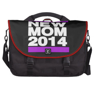Nueva púrpura de la mamá 2014 bolsa de ordenador