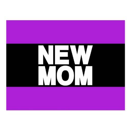 Nueva púrpura de LG de la mamá Tarjeta Postal