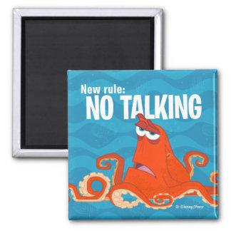 Nueva regla de Hank el |… el ningún hablar Imán Cuadrado