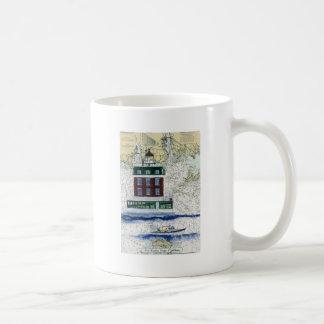 Nueva repisa de Londres Taza De Café