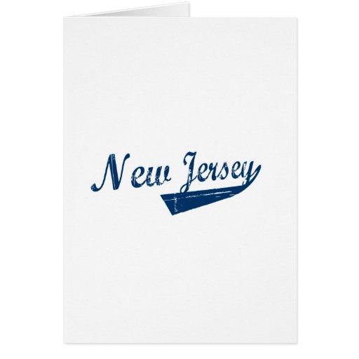 Nueva revolución de New Jersey Tarjeta De Felicitación